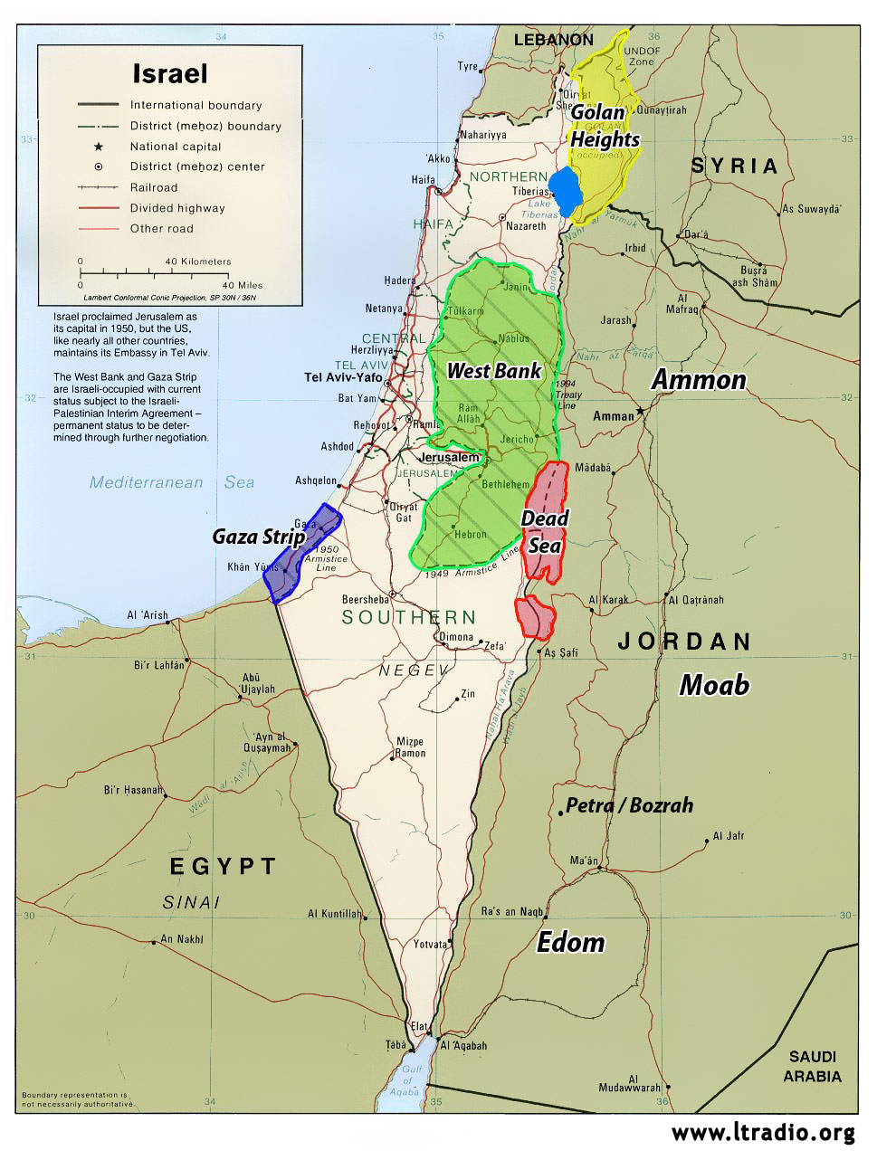 Maps and charts modern israel map with main areas highlighted gumiabroncs Choice Image